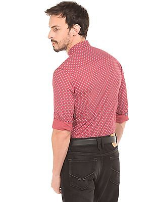 U.S. Polo Assn. Denim Co. Floral Print Shirt