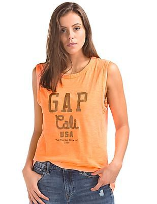 GAP Cali USA Logo Tank