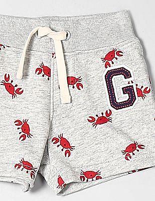 GAP Baby Print Gap Logo Shorts