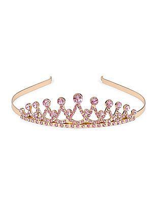 The Children's Place Girls Glitter Crown Headband