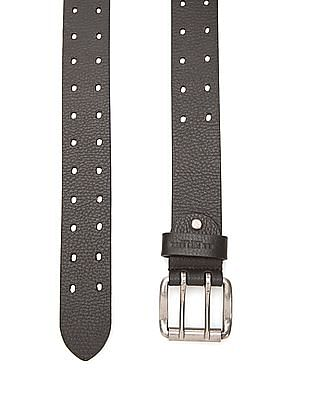 U.S. Polo Assn. Pebble Grain Leather Belt
