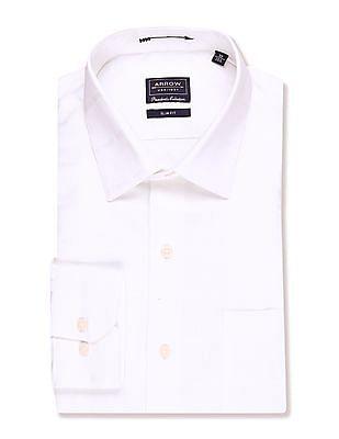 Arrow French Placket Giza Cotton Shirt