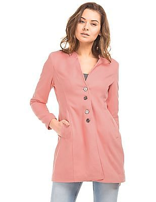Elle Long Sleeve Fleece Coat