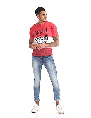 Ruf & Tuf Slim Fit Faded Jeans
