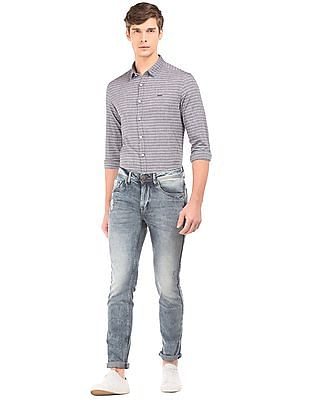 Flying Machine Stone Wash Slim Tapered Fit Jeans