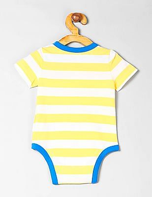 GAP Baby Short Sleeve Stripe Bodysuit