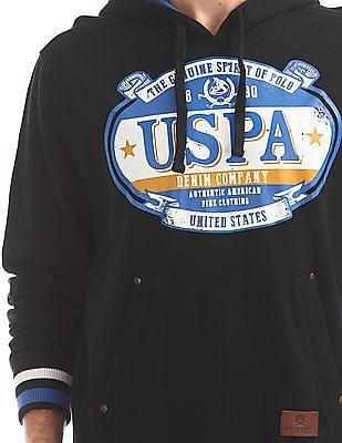 U.S. Polo Assn. Denim Co. Hooded Graphic Sweatshirt