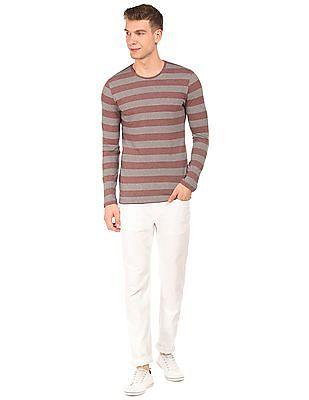 Cherokee Striped Long Sleeve T-Shirt