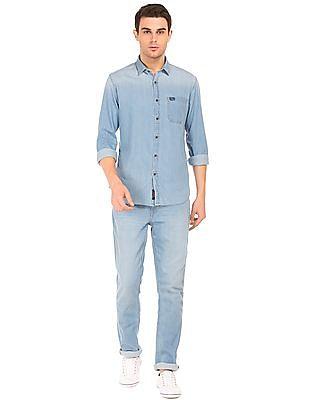 U.S. Polo Assn. Denim Co. Slim Fit Stone Wash Jeans