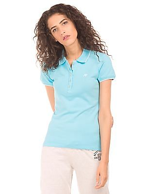 Aeropostale Regular Fit Pique Polo Shirt