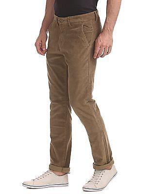 Ruggers Urban Slim Fit Corduroy Trousers