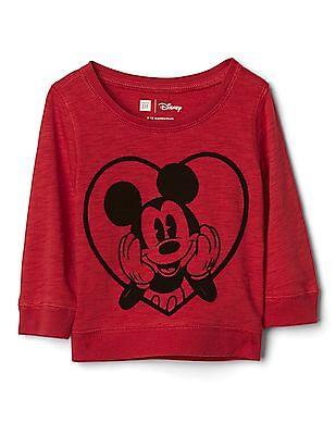 GAP Baby Disney Mickey Mouse Slub Top