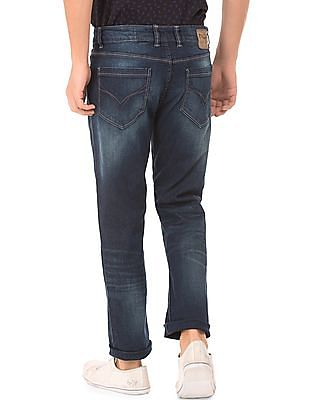 Flying Machine Stone Washed Straight Fit Jeans