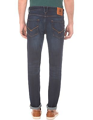 U.S. Polo Assn. Denim Co. Washed Slim Tapered Jeans