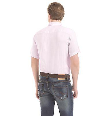 Izod Slim Fit Linen Shirt