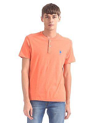 U.S. Polo Assn. Regular Fit Henley T-Shirt
