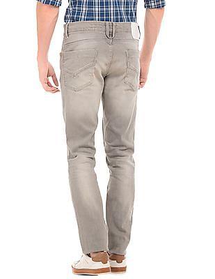 U.S. Polo Assn. Denim Co. Mid Rise Stone Wash Skinny Jeans