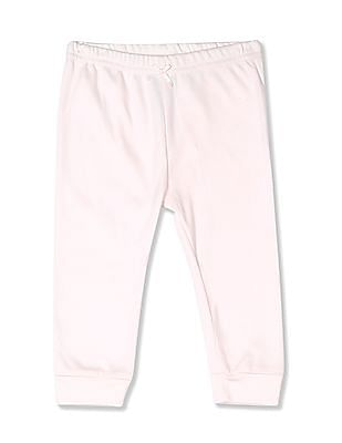 The Children's Place Baby Girl Assorted Layette Solid Pants 2-Pack