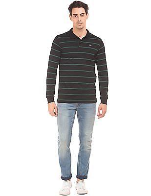 Ruggers Long Sleeve Jersey Polo Shirt