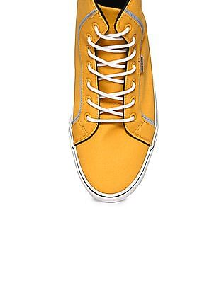 Flying Machine High Top Canvas Sneakers