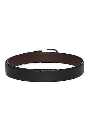 Arrow Brown And Black Reversible Leather Belt