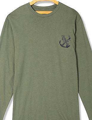 Nautica Slim Fit Long Sleeve T-Shirt
