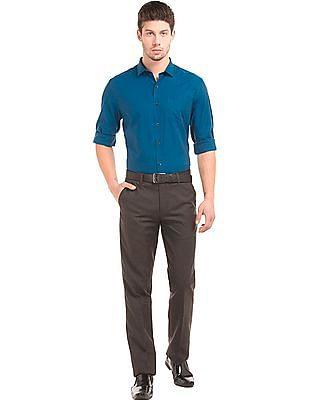 Elitus Regular Fit Two Tone Shirt