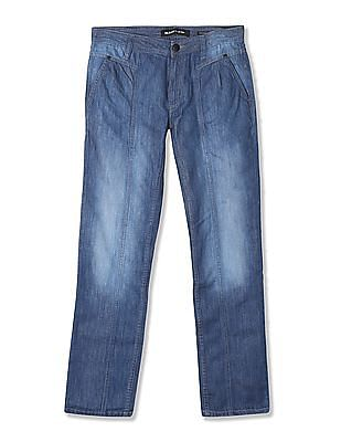 Flying Machine Women Skinny Fit Panelled Jeans