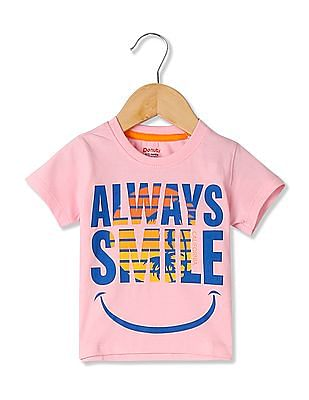 Donuts Boys Printed Crew Neck T-Shirt