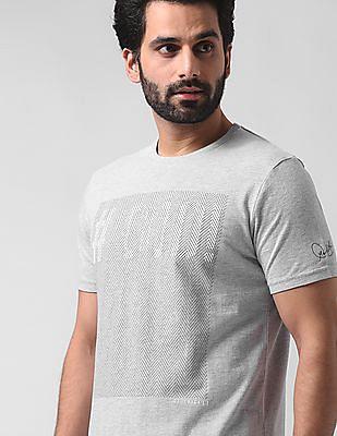 True Blue Slim Fit Heathered T-Shirt