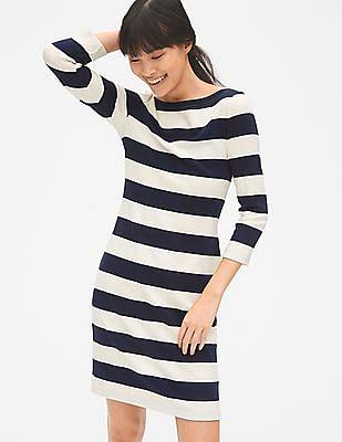 5c641584081 Buy Women Modern Boat neck Dress online at NNNOW.com