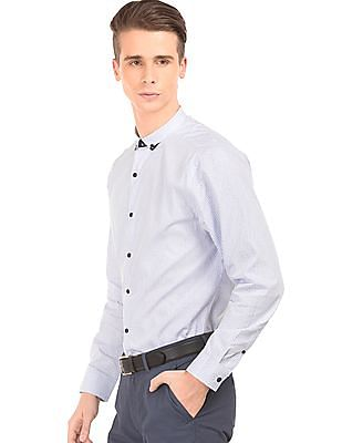 Izod Button Down Striped Shirt