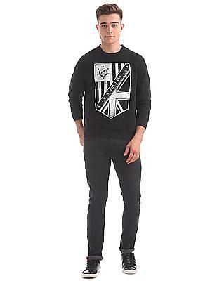 U.S. Polo Assn. Denim Co. Crew Neck Graphic Sweatshirt