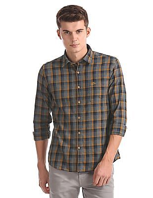 U.S. Polo Assn. Denim Co. Checked Button Down Shirt