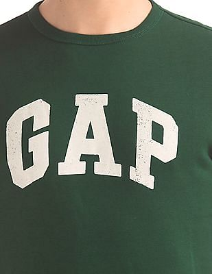 GAP Long Sleeve Printed Sweatshirt