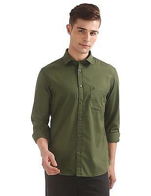 Izod Patterned Slim Fit Shirt