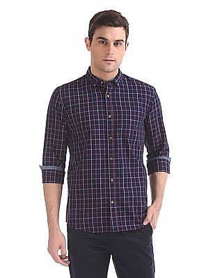 Ruggers Button Down Collar Check Shirt