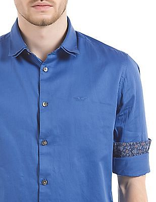 Flying Machine Double Collar Slim Fit Shirt