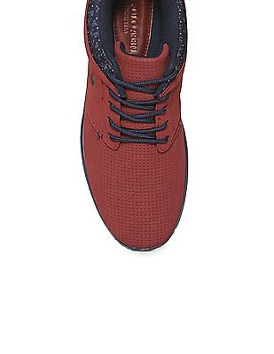 U.S. Polo Assn. Colour Blocked Perforated Sneakers