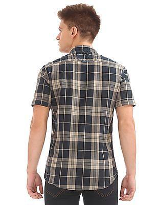 Cherokee Short Sleeve Check Shirt