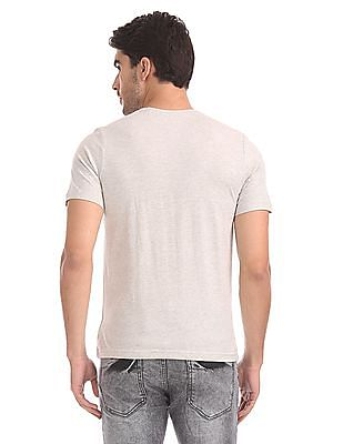 Colt Round Neck Graphic T-Shirt