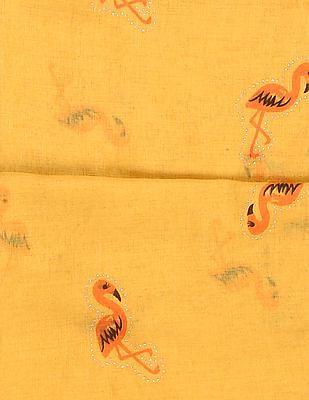 SUGR Flamingo Print Stole