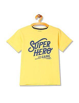FM Boys Boys Short Sleeve Graphic T-Shirt