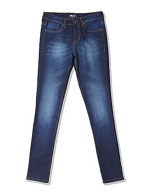 Newport Slim Fit Whiskered Jeans