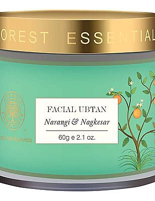 FOREST ESSENTIALS Facial Ubtan With Narangi And Nagkesar - Normal Towards Oily Skin