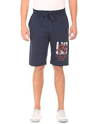 U.S. Polo Assn. Denim Co. Brand Print Knit Shorts