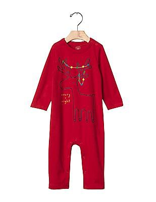 GAP Baby Graphic Long Sleeve One Piece