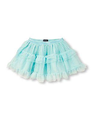 The Children's Place Toddler Girl Glitter Ruffle Tutu Skirt