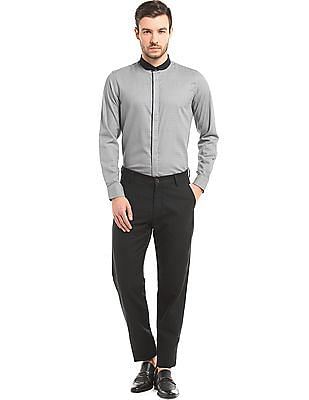 True Blue Club Collar Slim Fit Shirt