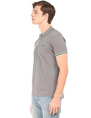 Aeropostale Tipped Pique Polo Shirt